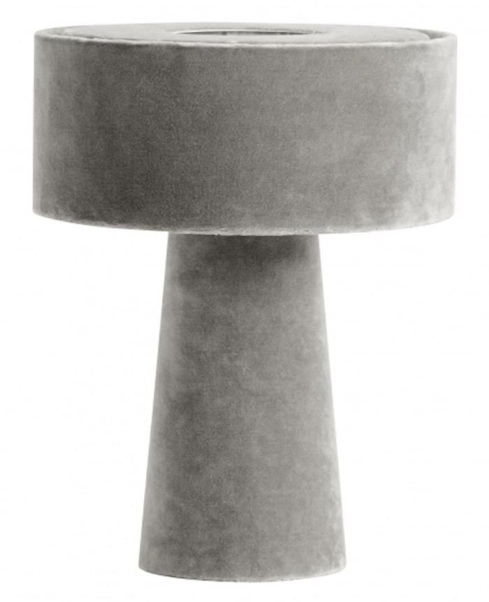 MUSHROOM Bordlampe Grå
