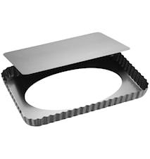 Silvertop Pajform 32x22cm Silver