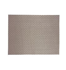 Brikke PVC Sølv 40x30 cm