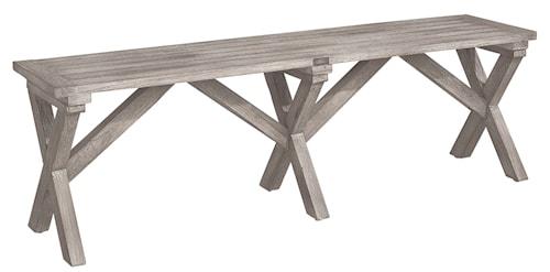 Keywest Bänk 150cm Instant Grey