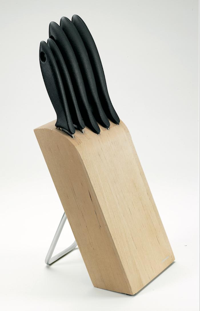 Essential Knivblok med 5 knive