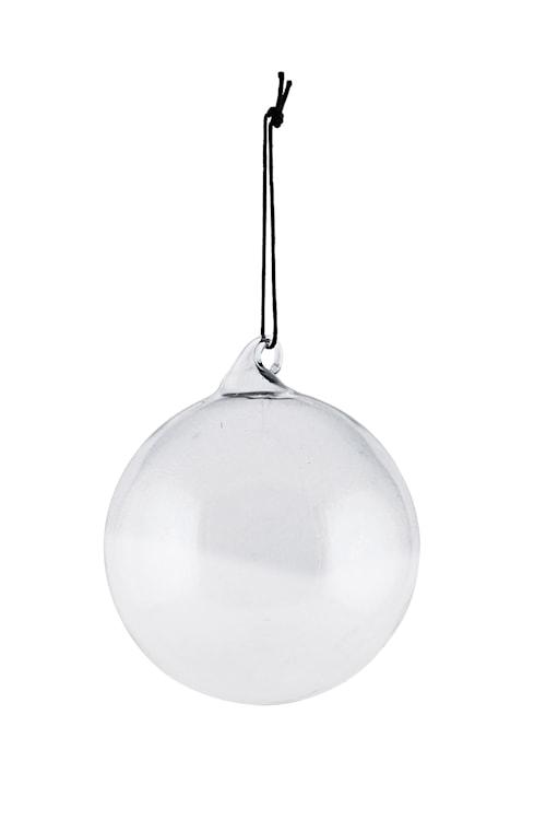 Prydnadskula Glas Ø 8 cm Grå