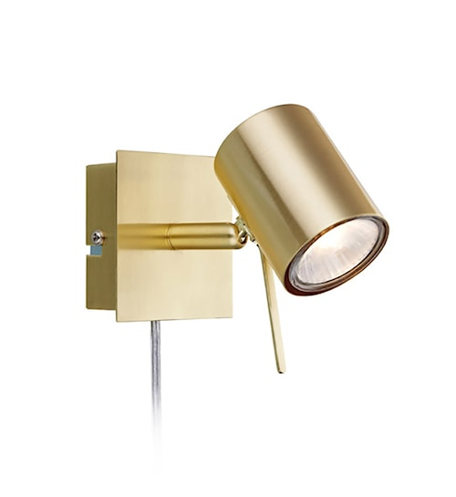 Hyssna LED Væglampe Messing