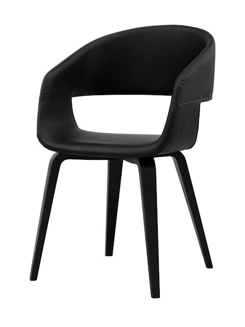 Nova stol – Svarta ben