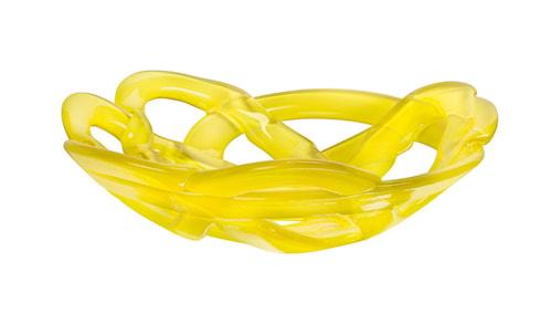 Basket Skål Gul Ø306mm