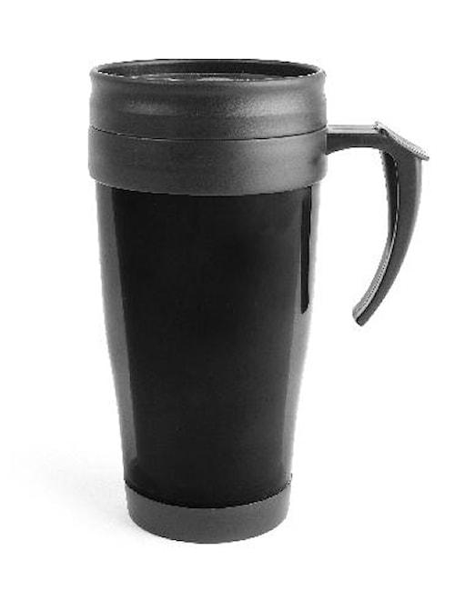 Bilmugg plast, svart 40 cl