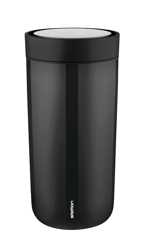 To Go Click Mugg 20 cl Steel Black