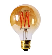 Elect LED Filament Globe Gold 80mm