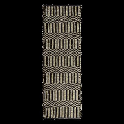 Matta Seagrass 70x200 cm - Svart/Natur
