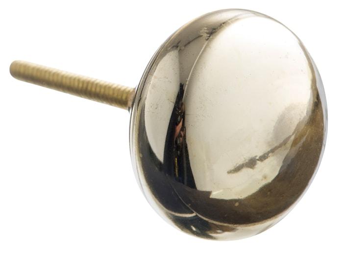 Dörrhandtag Ø 4 cm - Guld