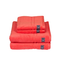 Premium Handduk Röd 30x50 cm