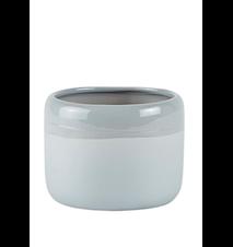 Skjuler - Keramik - Lysegrå - D 11,0cm - H 8,5cm