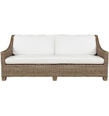 Madison 3-personers Sofa - Grey Lacak