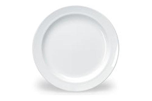 Melamin Flat tallerken Ø 23 cm
