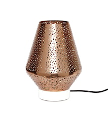 Bordlampe 18x25cm Hvid marmor/kobber