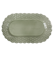 DITSY Oval Tallrik Ljusgrön 26 cm