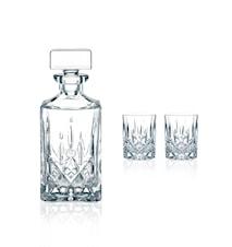 Noblesse Karaffel og 2stk Glas