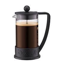 Brazil Kaffebryggare 3 koppar 35 cl Svart