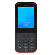 "GSM-telefon 2,44"" färg-skärm"