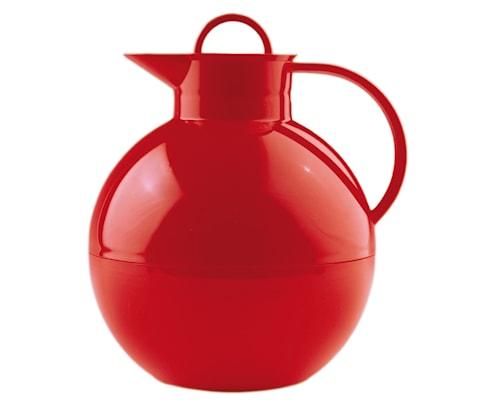 Kulan termoflaske blank rød 0,94 liter