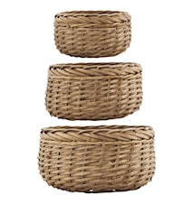 Korg Baskets 3st Natur