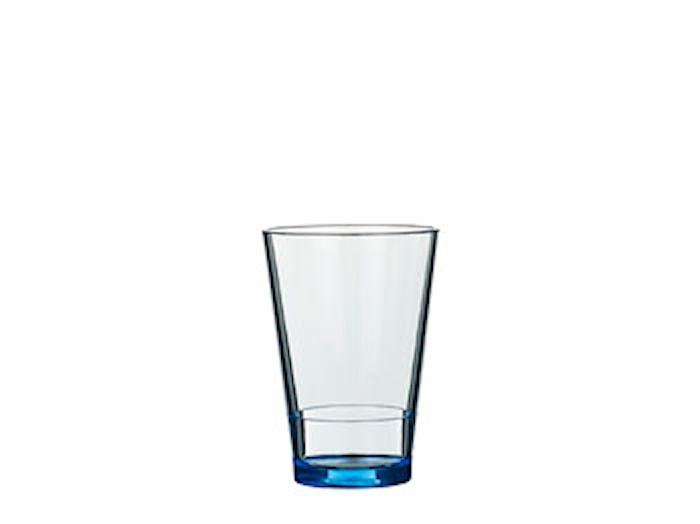Vattenglas Flow 27,5 cl Retro blå