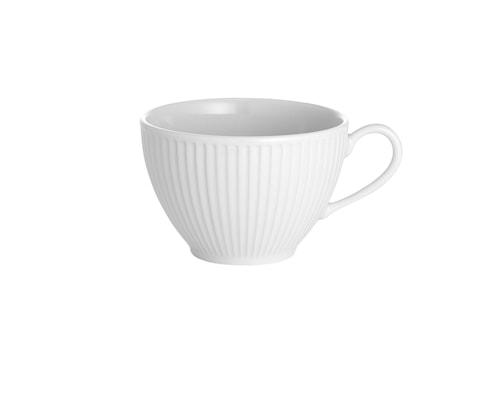 Plissé Kaffekopp 29 cl Vit