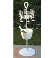 Champagne/Vinkylare Easy Stand (Svart)