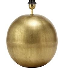 Globe Lampfot Blekt Guld 15cm