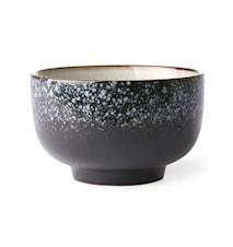 70's Skål Keramik Svart 50 cl