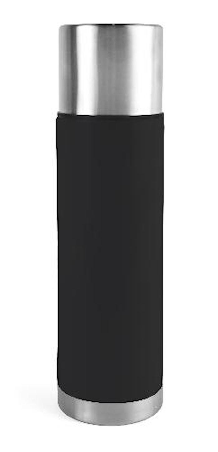 Ståltermos 0,75 L stål/svart