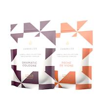 Doftljus Refill Peche De Vigne/ Dramatic Cologne 2-Pack