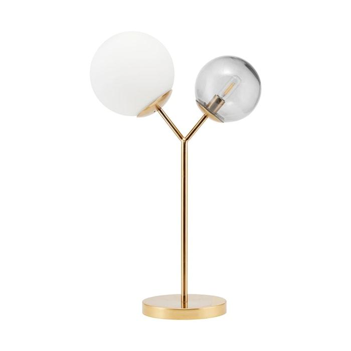Bordslampa Twice - Mässing