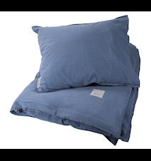 Sengesæt Ernst 150x210/50x60, blå