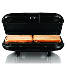 C3 Chiabatta 2 Sandwichgrill Sort