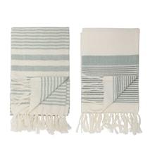 Handduk Cotton Green 2 st