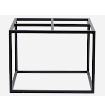 Bordsben 60x60x45 cm - Svart