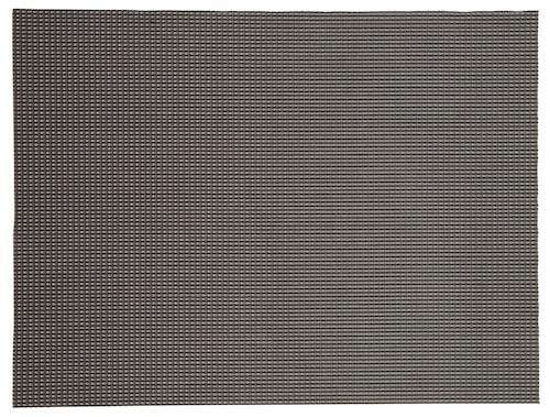 Tablett Svart/Guld 40x30 cm