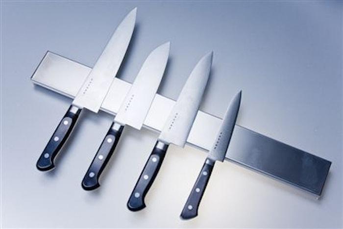 Knivmagnet Rostfritt stål 75 cm