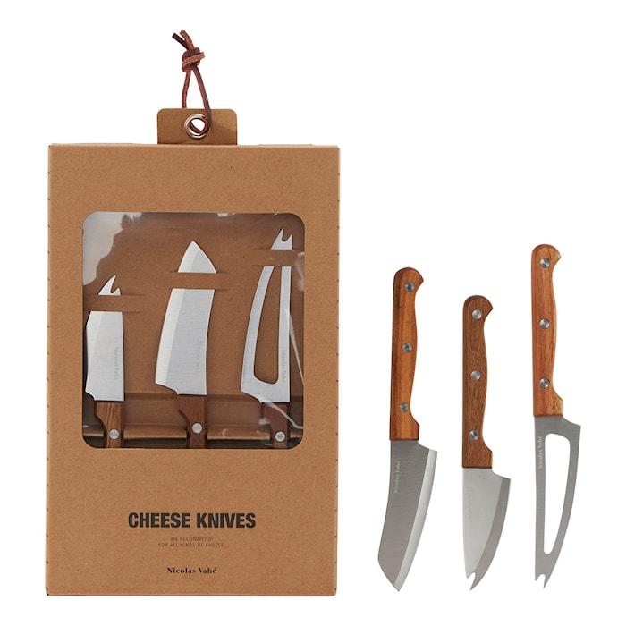 Ostknivar 3st Rostfritt stål