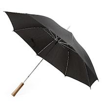 Paraply stormsikker, svart
