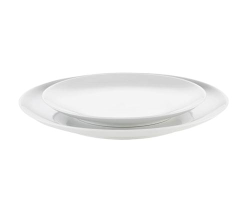 Cecil tallrik flat vit, Ø 19,5 cm