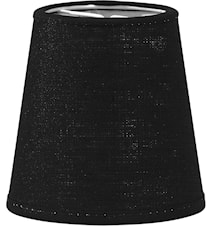 Queen Lampeskjerm Franza Svart 12 cm
