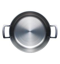 Pata Alu/Teräs kannella 6L/24 cm