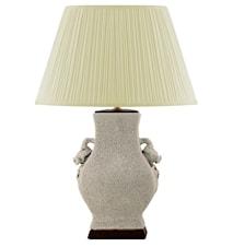 Lampfot, 30 cm, med handtag som granaträpplen
