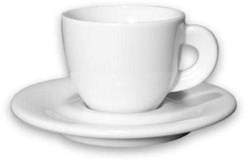 Edex Espressokopp med fat