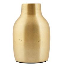 Vase Effect Ø 9x14 cm - Messing
