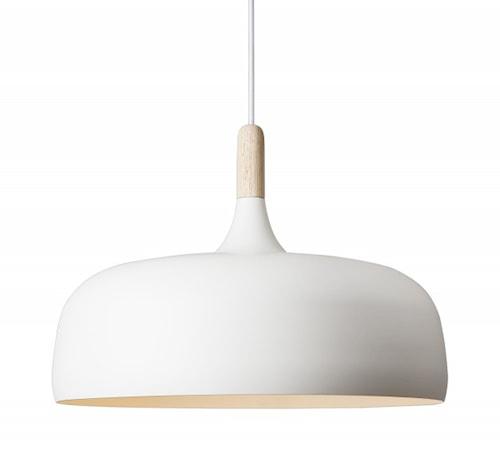Acorn taklampa - Vit
