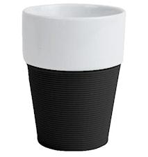 Mugg silikon, svart