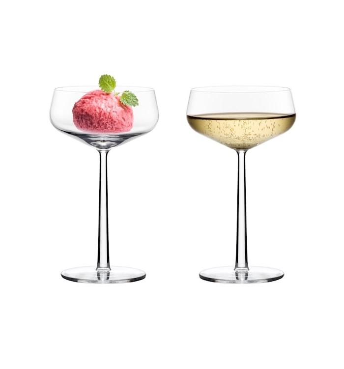 Essence Dessert/Champagne/Cocktailglas 31 cl 2-pak